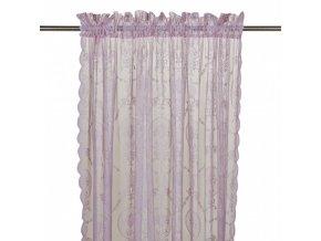 Záclona - ružová