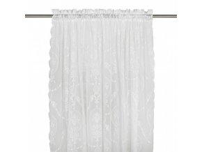 Záclona smotanová